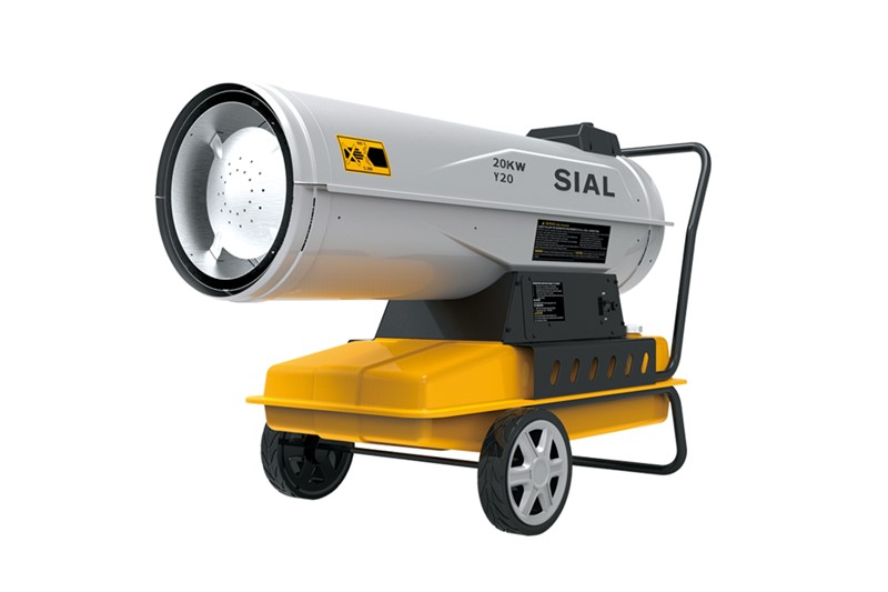 Calentador de aire forzado diesel Y30