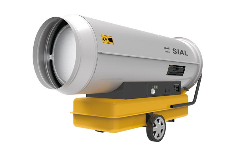 Calentador de aire forzado diesel Y85 A